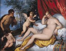 Venus and Pan  by J. Brueghel