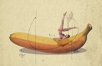 The Striped Banana by Ju Ulvoas