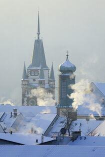 Winterliches Freiburg von Patrick Lohmüller