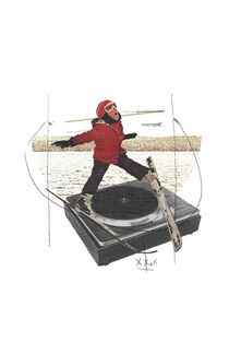 Piste de Ski von Ju Ulvoas
