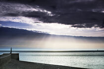Sonnenaufgang am Meer by Rolf Müller