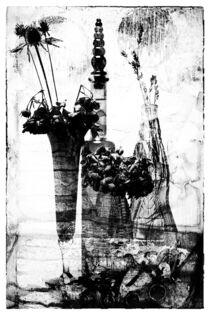 Still mit Glasgefäßen by Petra Dreiling-Schewe