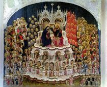 The Coronation of the Virgin in Paradise by Jacobello del Fiore