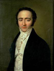 Franz Xaver Mozart  by Karl Gottlieb Schweikert