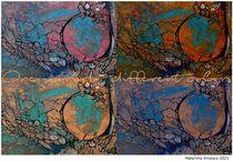 one world - different colors von Matthias Kronz