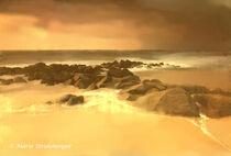 An einem fernen Strand. von Marie Luise Strohmenger