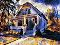 Our Old House by eloiseart