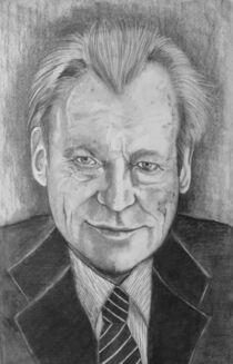 Willy Brandt von Marion Hallbauer
