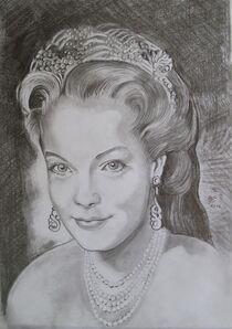 Portraitzeichnungen von Marion Hallbauer