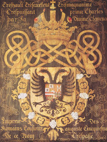 Coat of Arms of Charles V  by Jacques Le Boucq