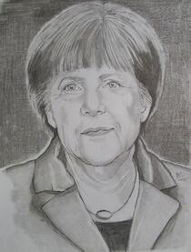 Angela Merkel by Marion Hallbauer