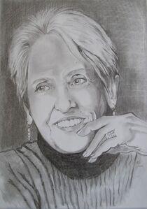 Portraitzeichnungen by Marion Hallbauer
