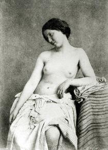 Nude Female Model by Julien Vallou de Villeneuve