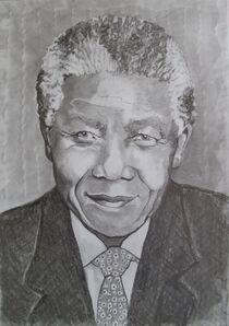 Nelson Mandela von Marion Hallbauer