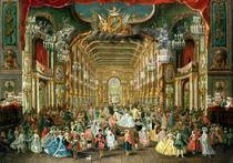 Masked Ball in the Hoftheater by Jakob Rousseau