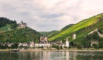Old village along the Rhine river, Germany by Hajarimanitra Rambeloarivony