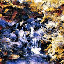 Waterfall by eloiseart