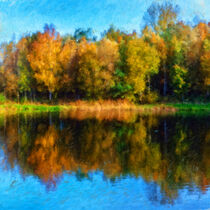 Farbenrausch im Herbst by freedom-of-art