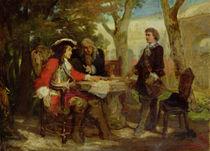 Meeting between Jean Cavalier  by Jules Salles-Wagner