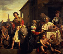 Tending the Orphans  von Jan de Bray