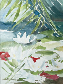 Ein See voll Seerosen von Sonja Jannichsen
