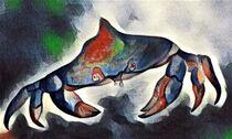 Blue Crab by eloiseart