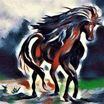 Prancing Pony by eloiseart