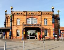 Hundertwasser Bahnhof Uelzen von alsterimages