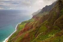 Na Pali Coast auf Kauai, Hawaii by Dirk Rüter