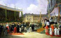 Inauguration of a Monument in Memory of Louis XVI  by Joseph Beaume