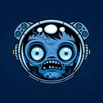 Zombie Astronaut by John Schwegel