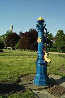 Blaue Pumpe in Stettin
