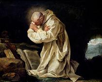 St. Bruno  von Jean Bernard Restout