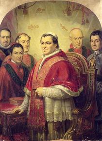 Pope Pius IX  by Jose Galofre Y Coma