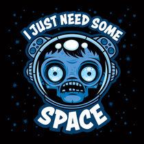 Zombie Astronaut Needs Some Space by John Schwegel
