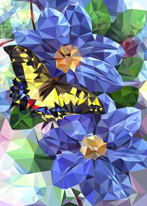 Swallowtail butterfly by William Rossin