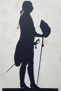 Silhouette of a Man  von Jean Gaspard Lavater