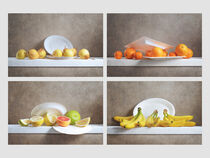 Fruits and Paper Plates / Obst und Pappteller by Nikolay Panov