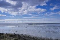 Wattenmeer an der Nordsee von Rolf Müller