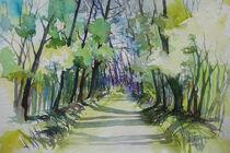 Waldweg von Sonja Jannichsen
