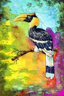 Great Hornbill Madness von Miki de Goodaboom