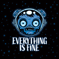 Zombie Astronaut Is Fine by John Schwegel