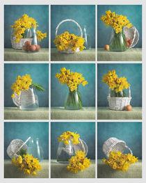 Gelbe Blumen / Yellow Flowers von Nikolay Panov