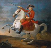 Equestrian Portrait of Louis XVI  von Jean-Baptiste Francois Carteaux
