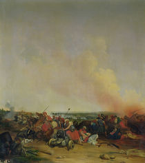 Battle of Sidi-Ferruch by Jean-Baptiste-Prudent Carbillet