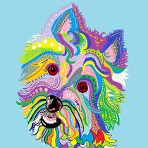 West Highland Terrier Westie by eloiseart