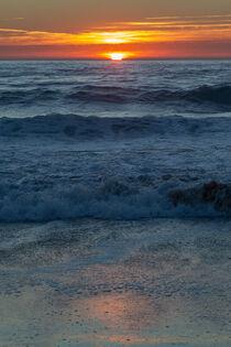 Sonnenuntergang am Praia do Amado by Dirk Rüter