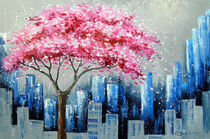 Cherry blossom in New York  by Olha Darchuk