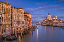 Sunset in Venice von Michael Abid