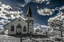 Old Turkey Creek Church von Barbara Magnuson & Larry Kimball